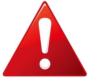 46283734 - warning sign vector