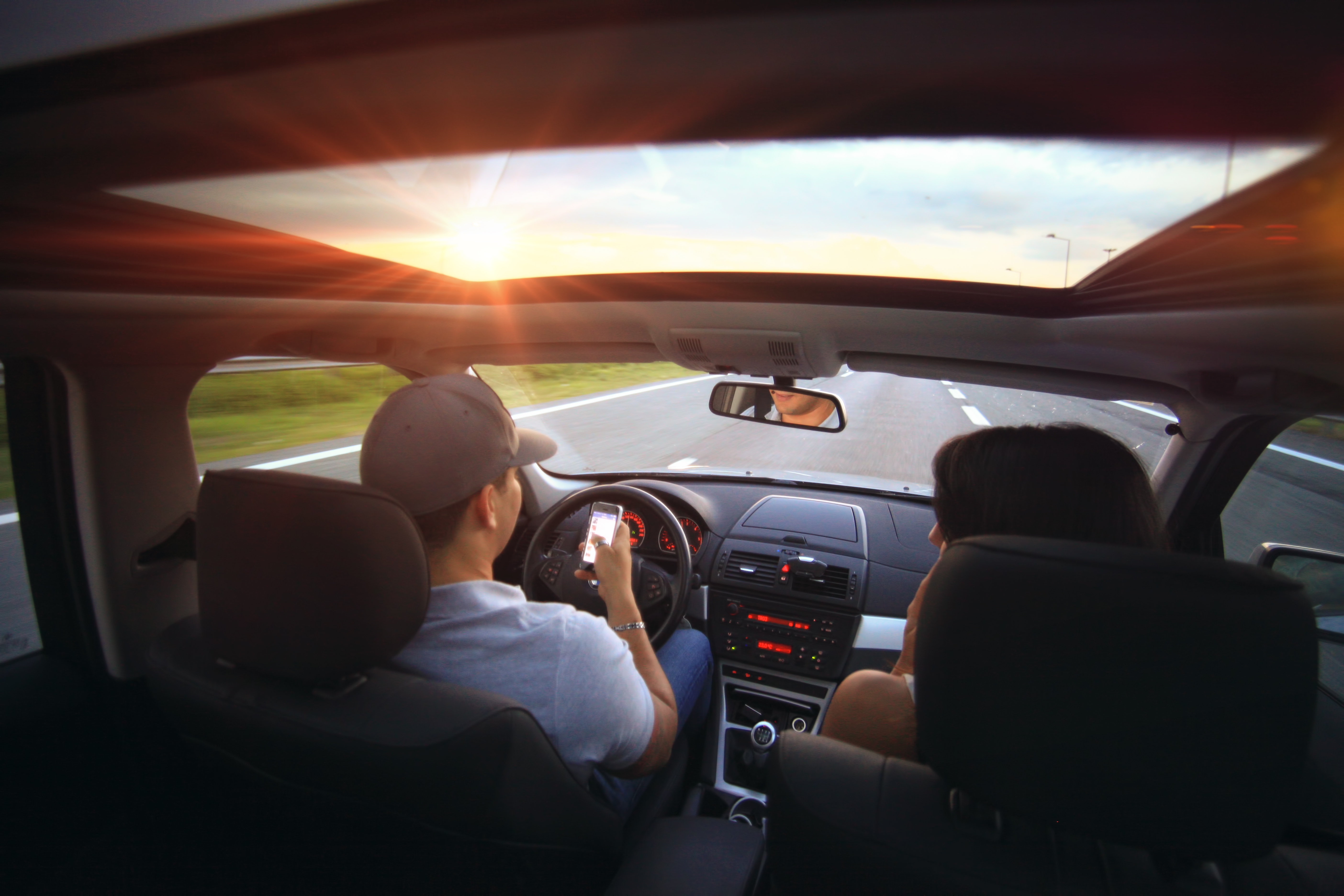 Texting While Driving Tampa Bay Car Accidents