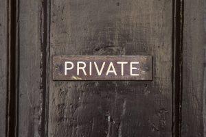 private door