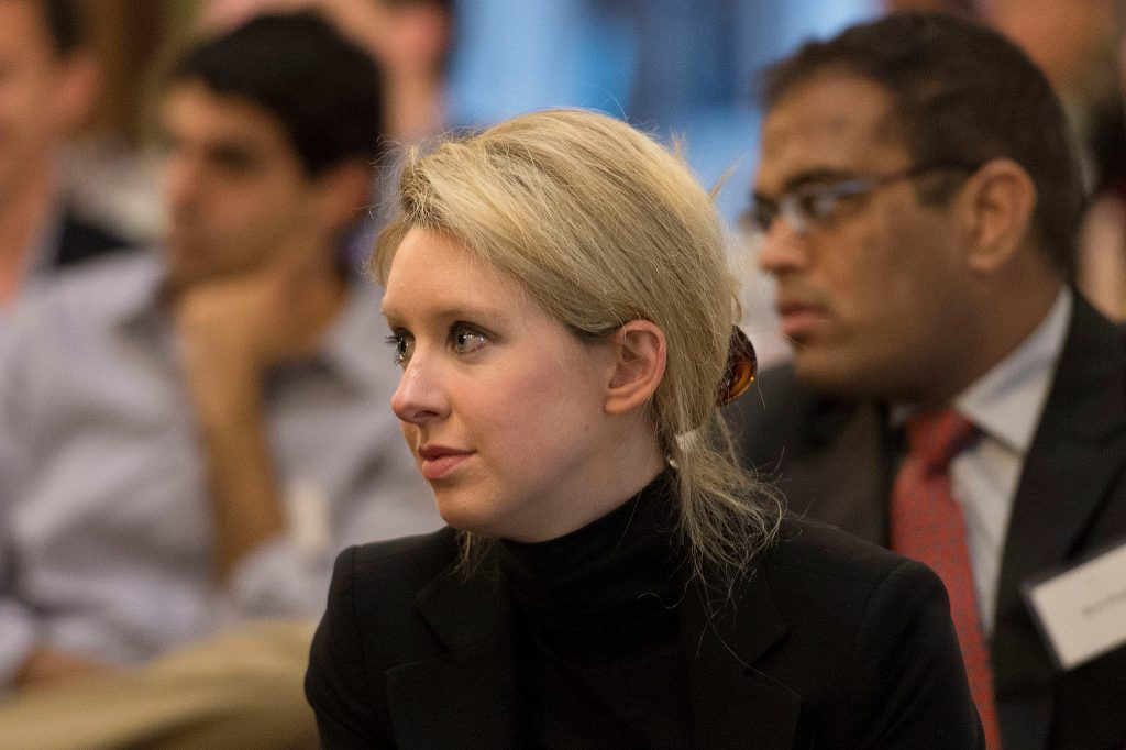 Elizabeth Holmes, CEO and founder of Theranos