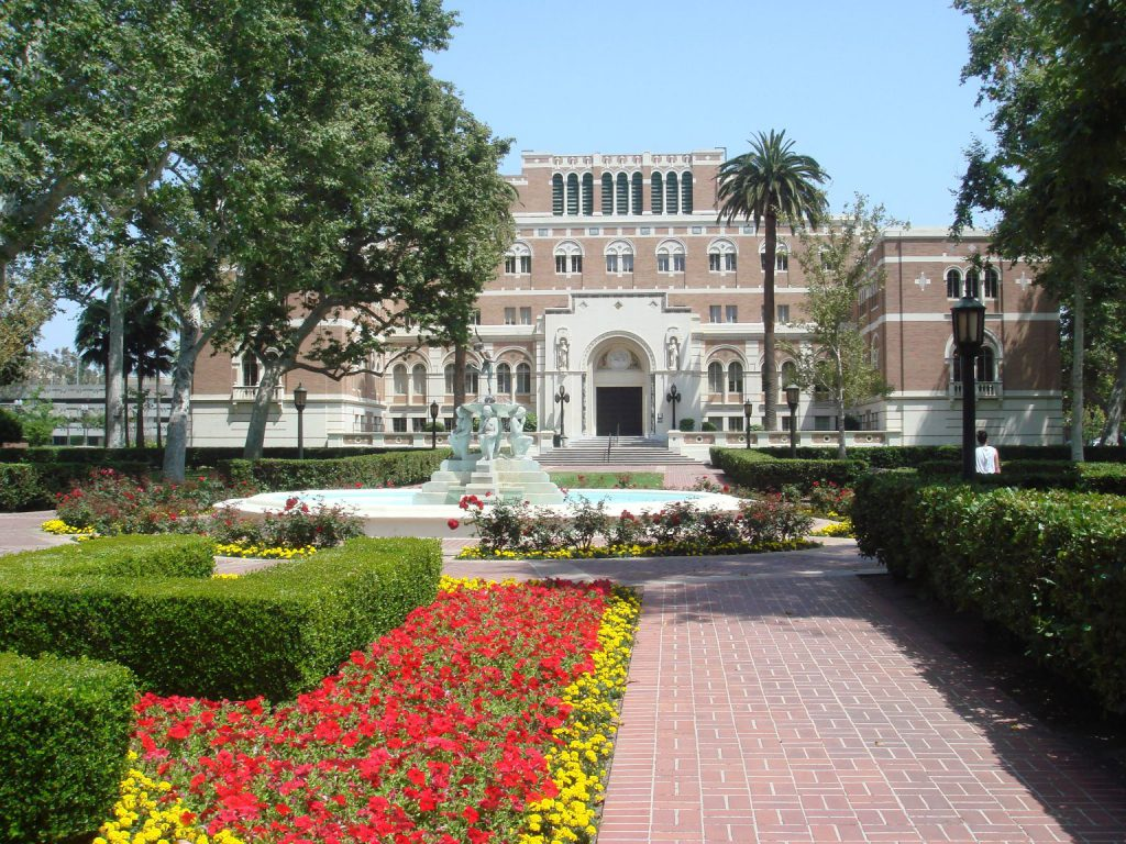usc campus where george tyndall used to work