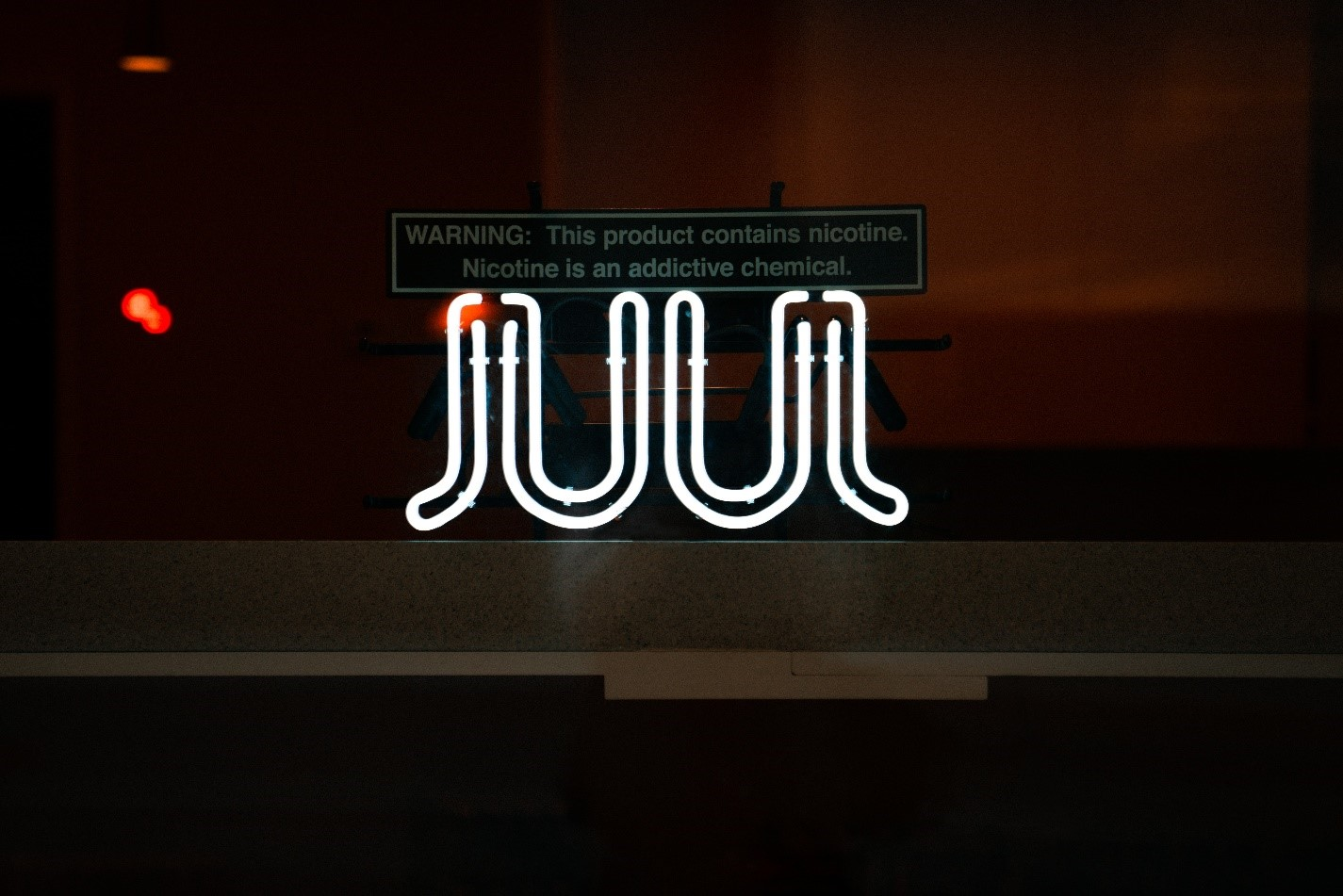 juul warning sign