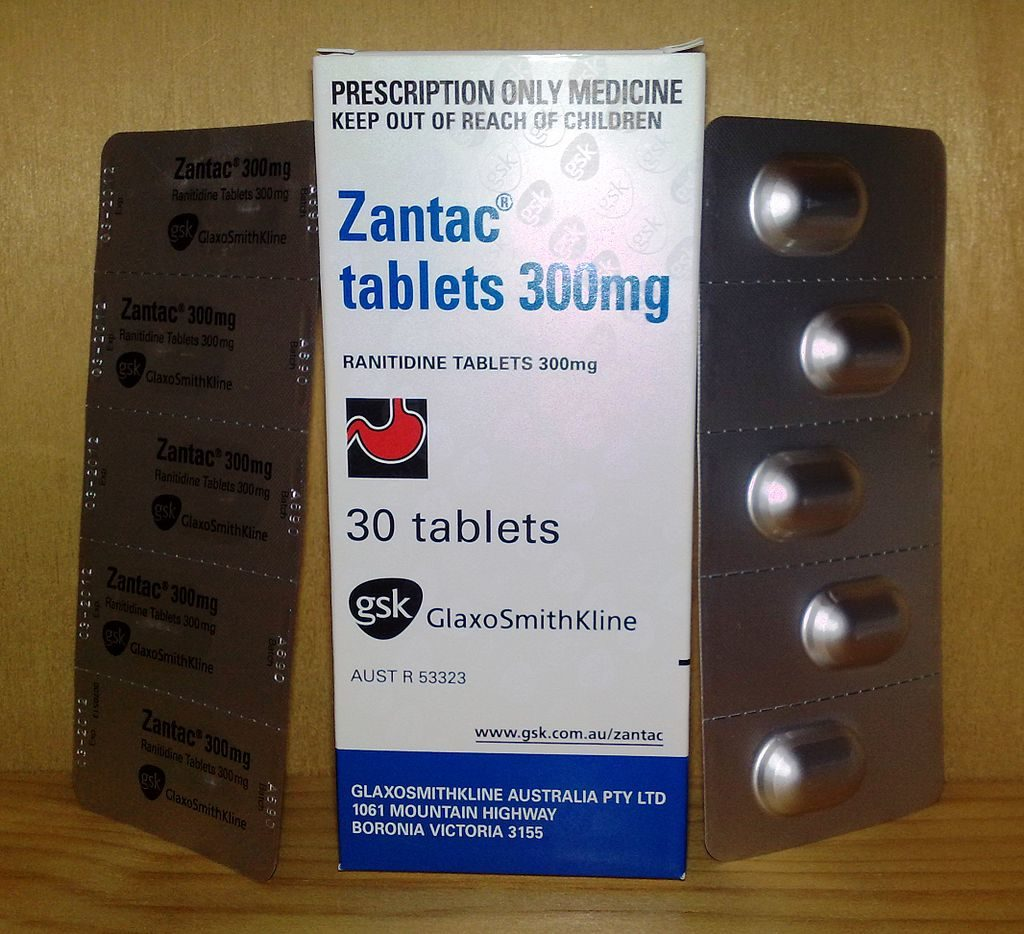 zantac tablets and box